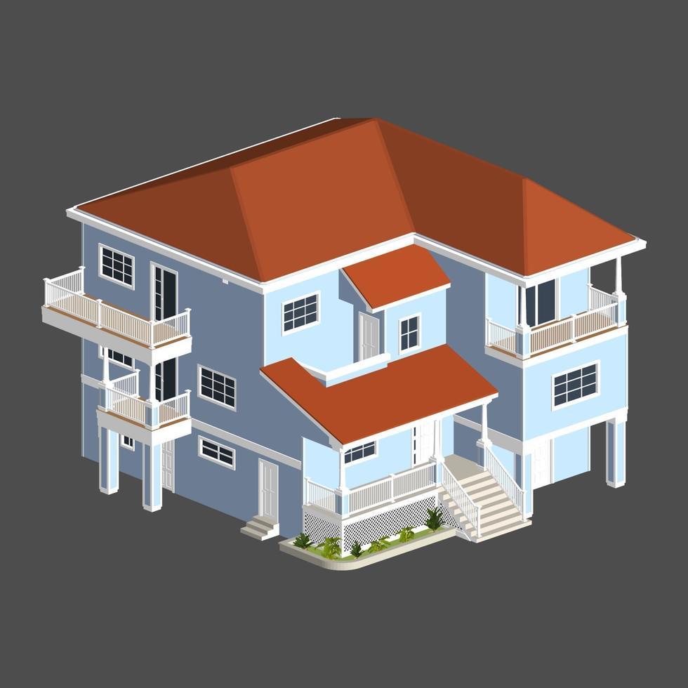 illustration av ett hus vektor