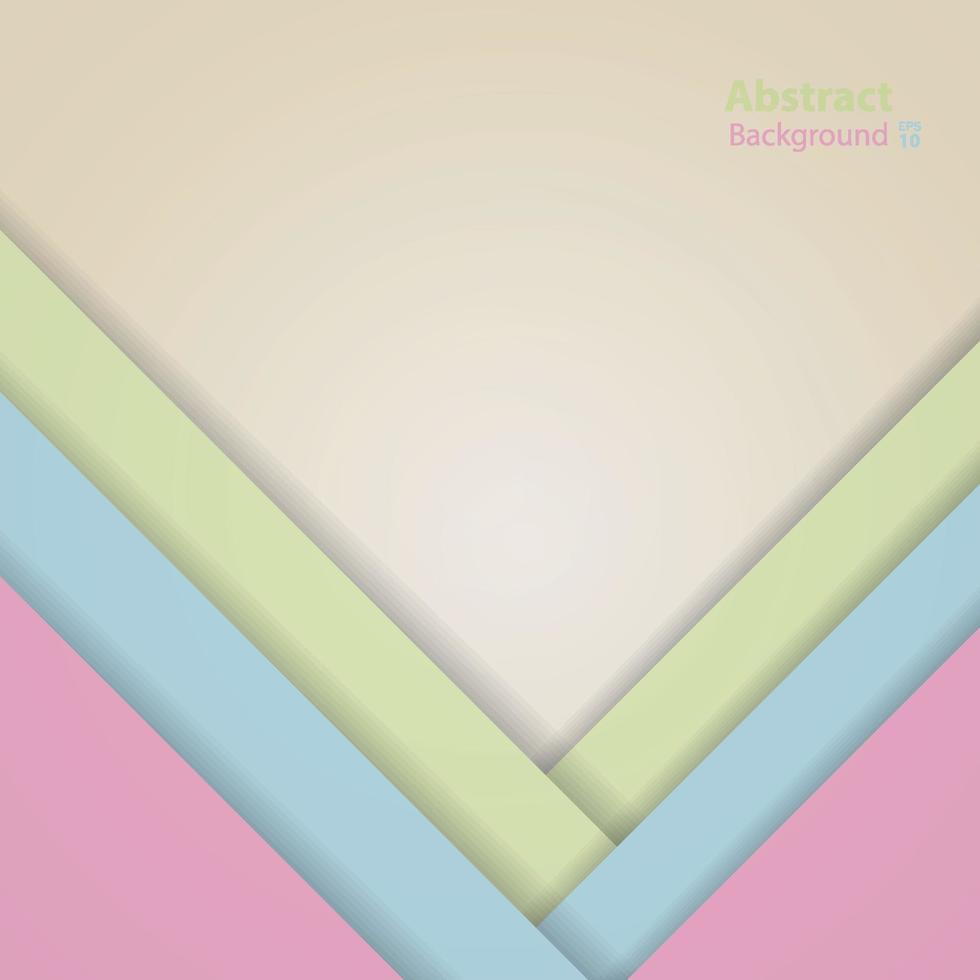 Vektor dunkelrosa, blau, grün und gelb Material Design Hintergrund.