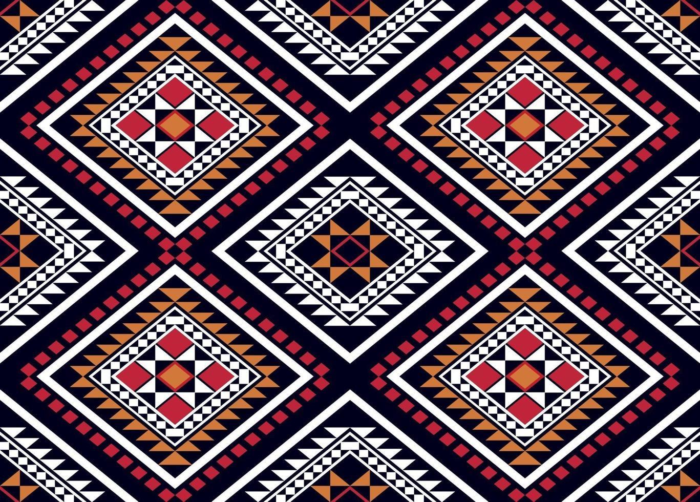 geometriska etniska mönster traditionell design vektor