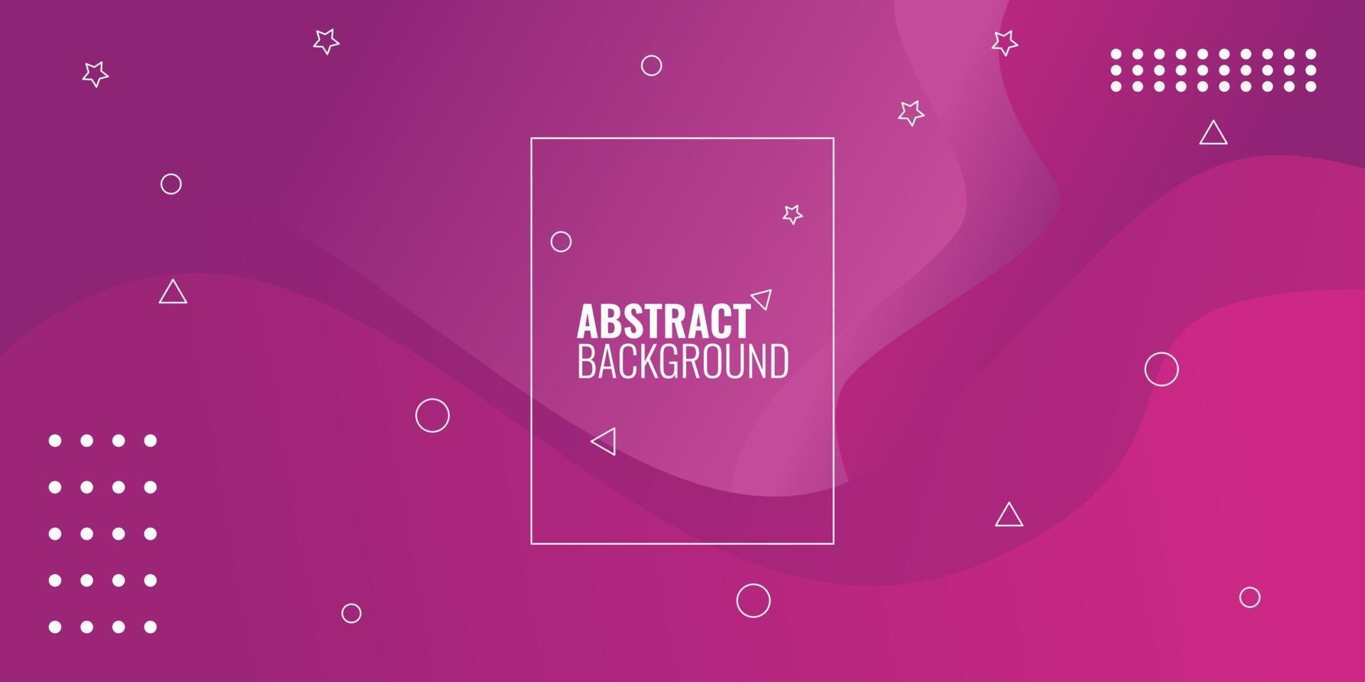 modern abstrakt röd gradient geometrisk vågig vektor
