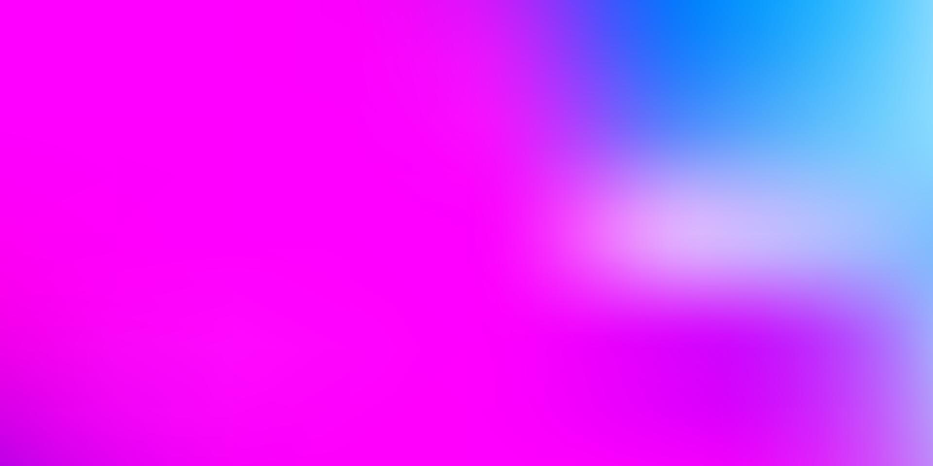 ljusrosa, blå vektor gradient oskärpa mall.