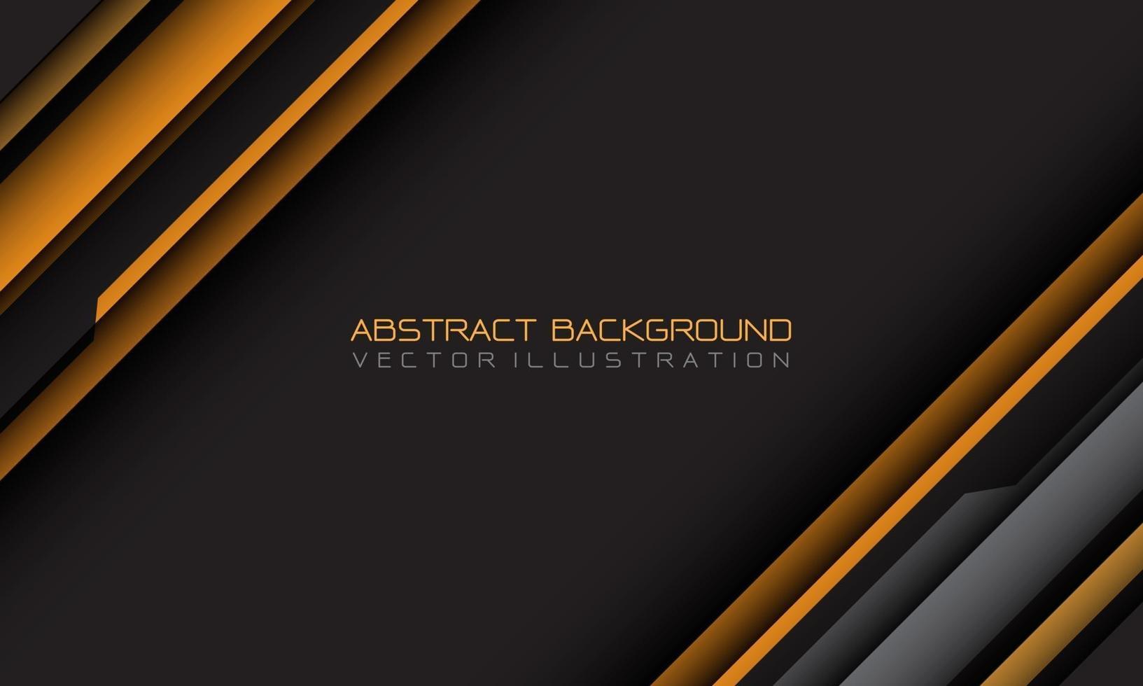 abstrakt gul grå cyber geometrisk snedstreck med tomt utrymme och text design modern futuristisk bakgrund vektorillustration. vektor