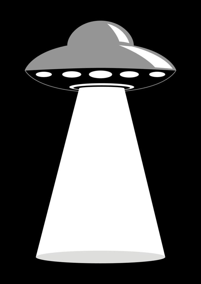 oidentifierat flygande objekt vektor