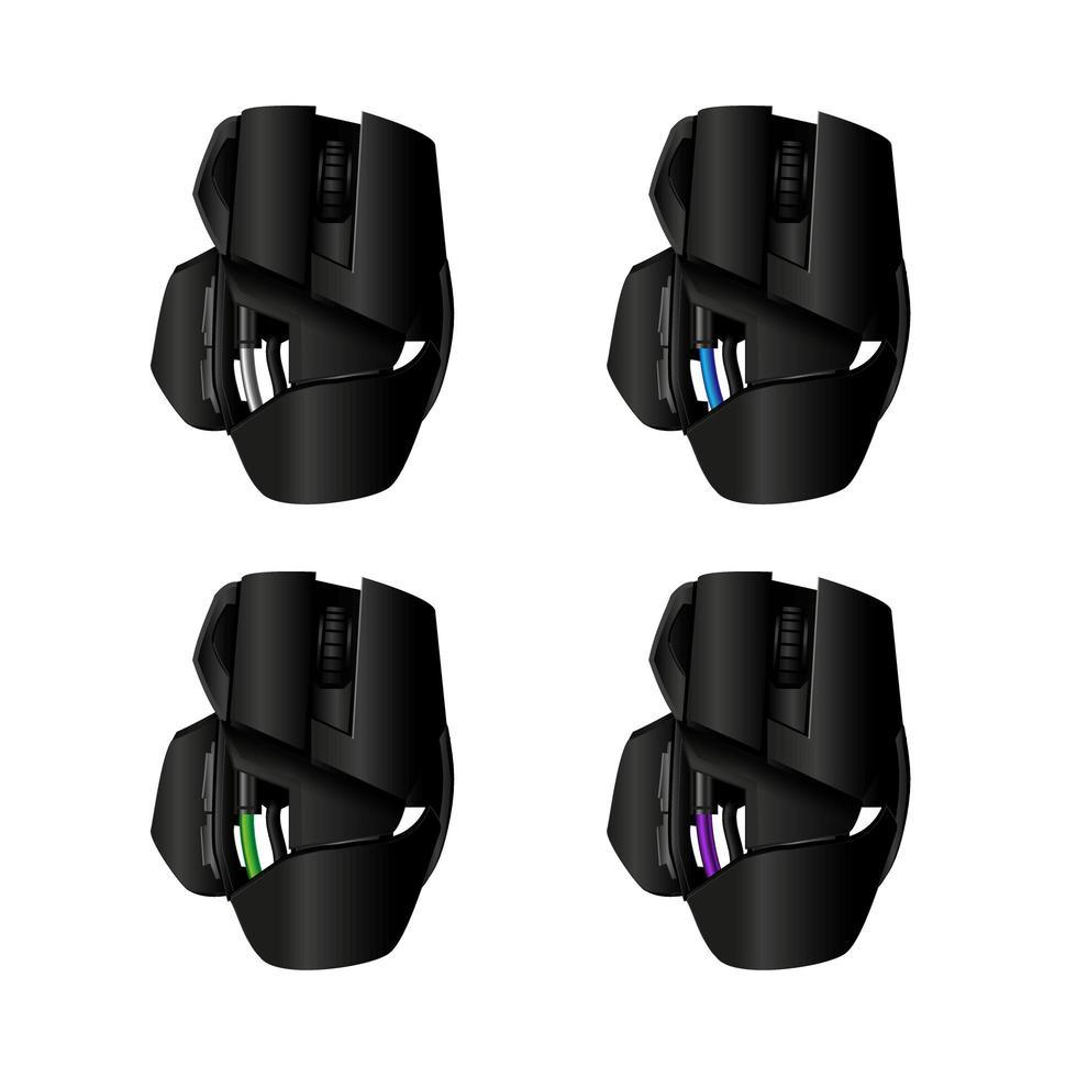 vektor gamer mus