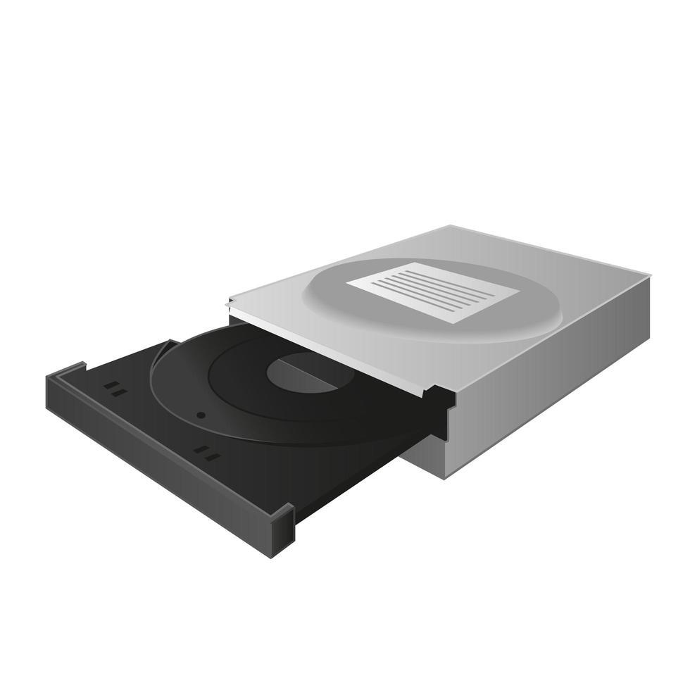 Laufwerk für Disc vektor