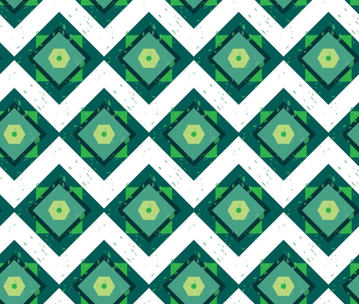grunge färgglada geometriska sömlösa mönster vektor