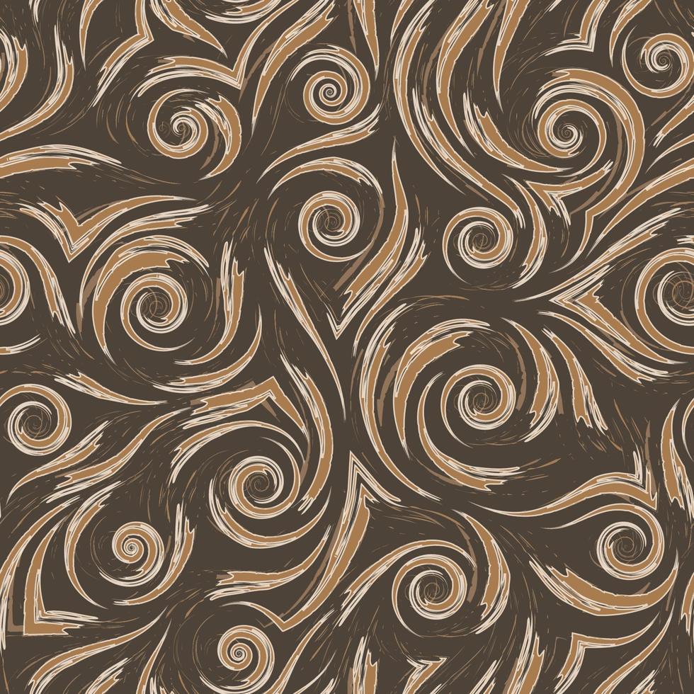 Lager beige Vektor nahtloses Muster