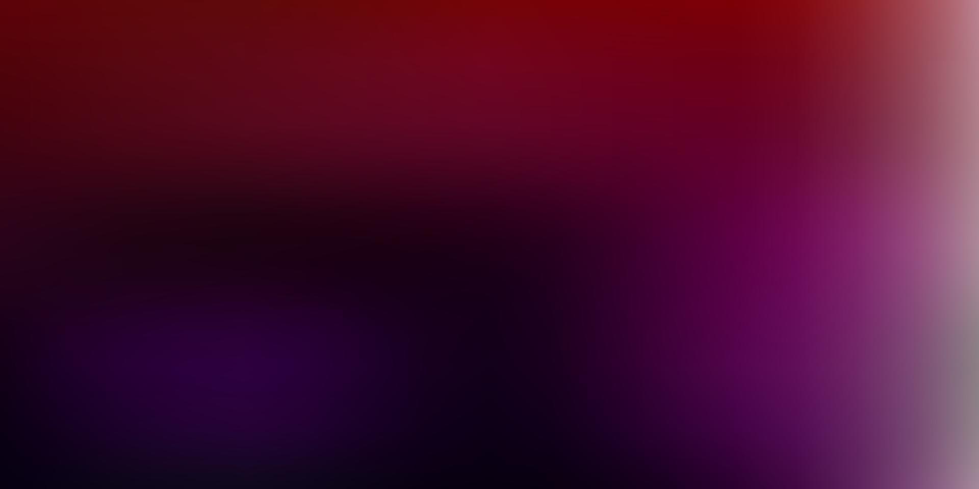 abstrakter Unschärfehintergrund des dunklen rosa, roten Vektors. vektor