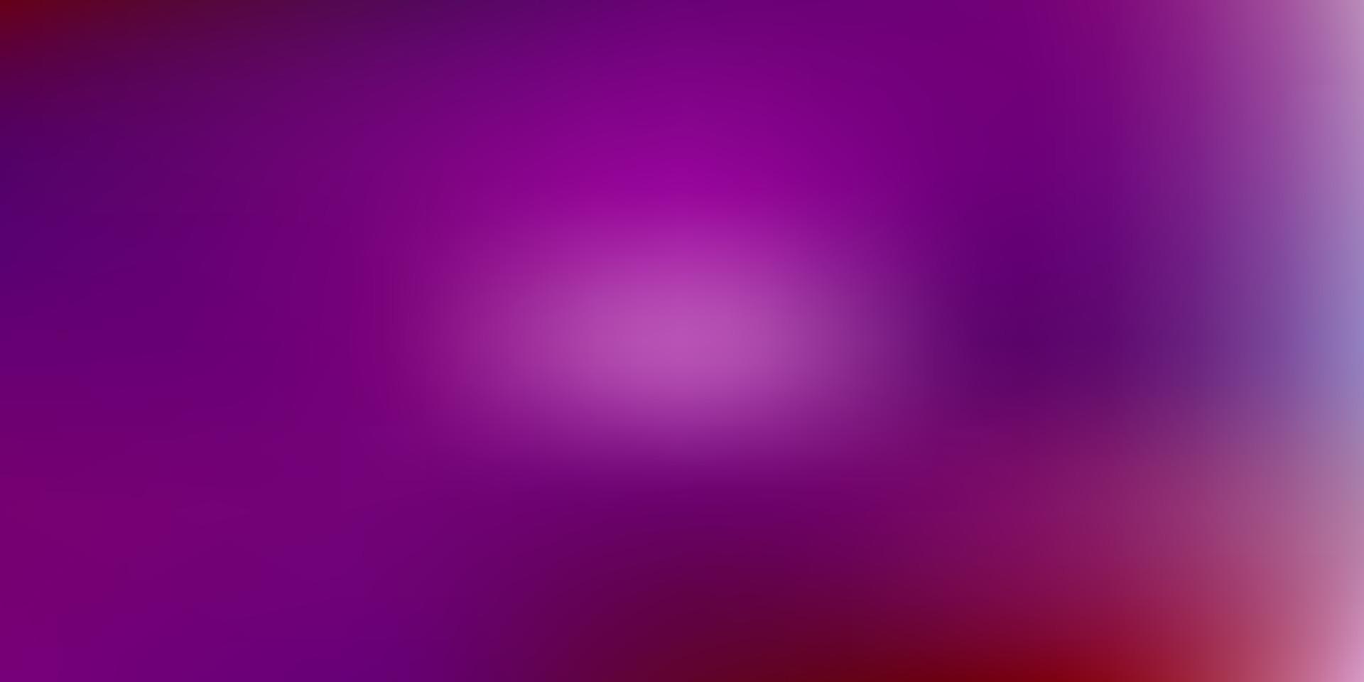 ljusrosa, röd vektor suddig mall.