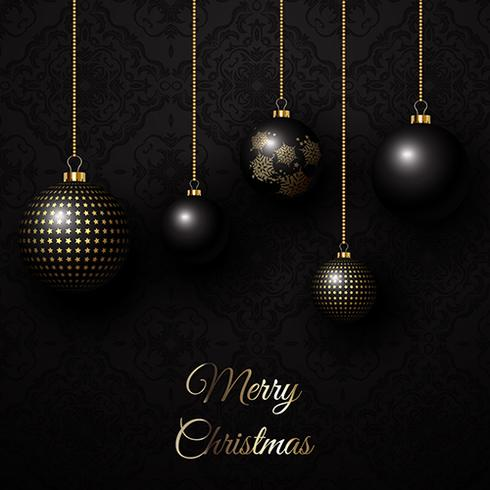 Elegant jul bakgrund vektor