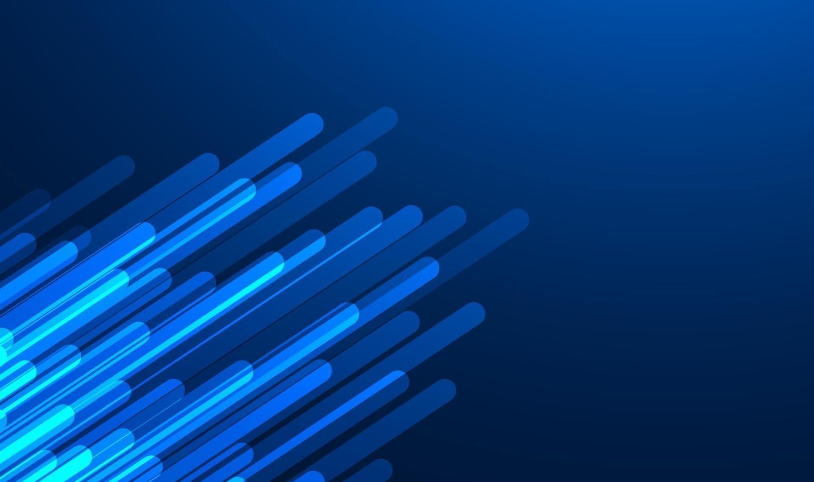 abstrakt blå tonad bakgrund med belysningslinjer. vektor illustration