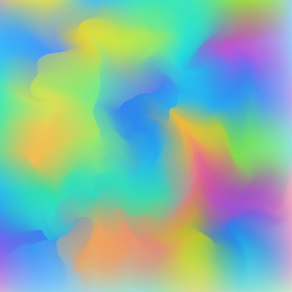 vätskeflödande färgstark bakgrund. abstrakt penselmålarfärg. vektor