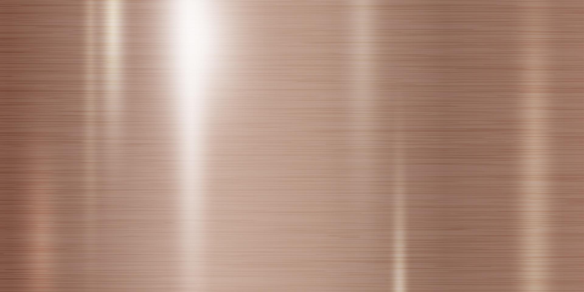 Kupfer Metall Textur Hintergrund Vektor-Illustration vektor