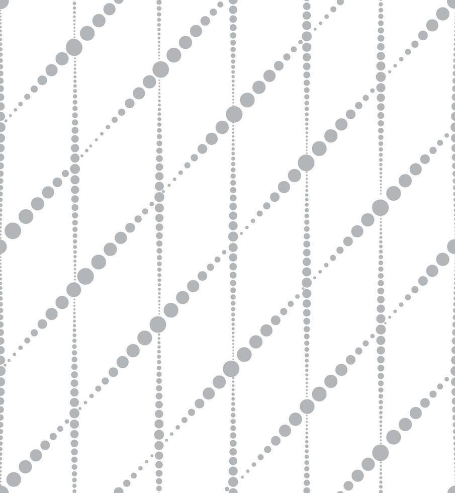 abstraktes geometrisches nahtloses Muster. stilvolle gepunktete Linien vektor