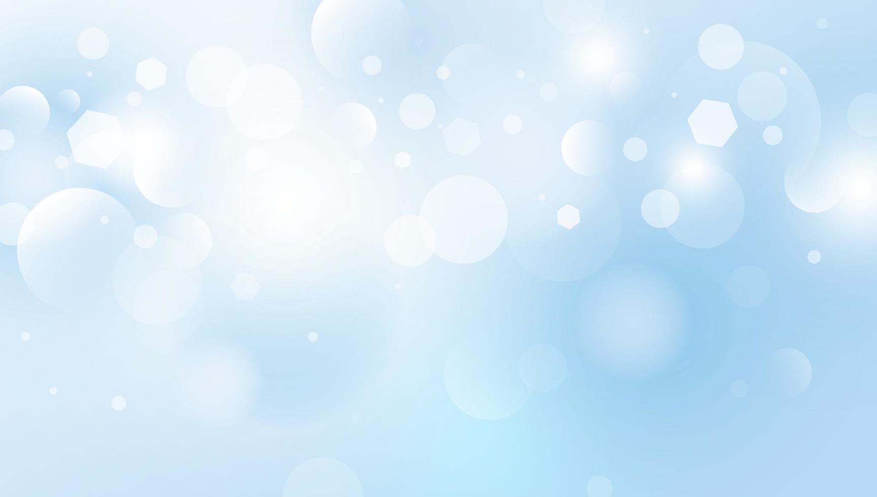 abstrakte Bokeh beleuchtet Hintergrundvektorillustration vektor