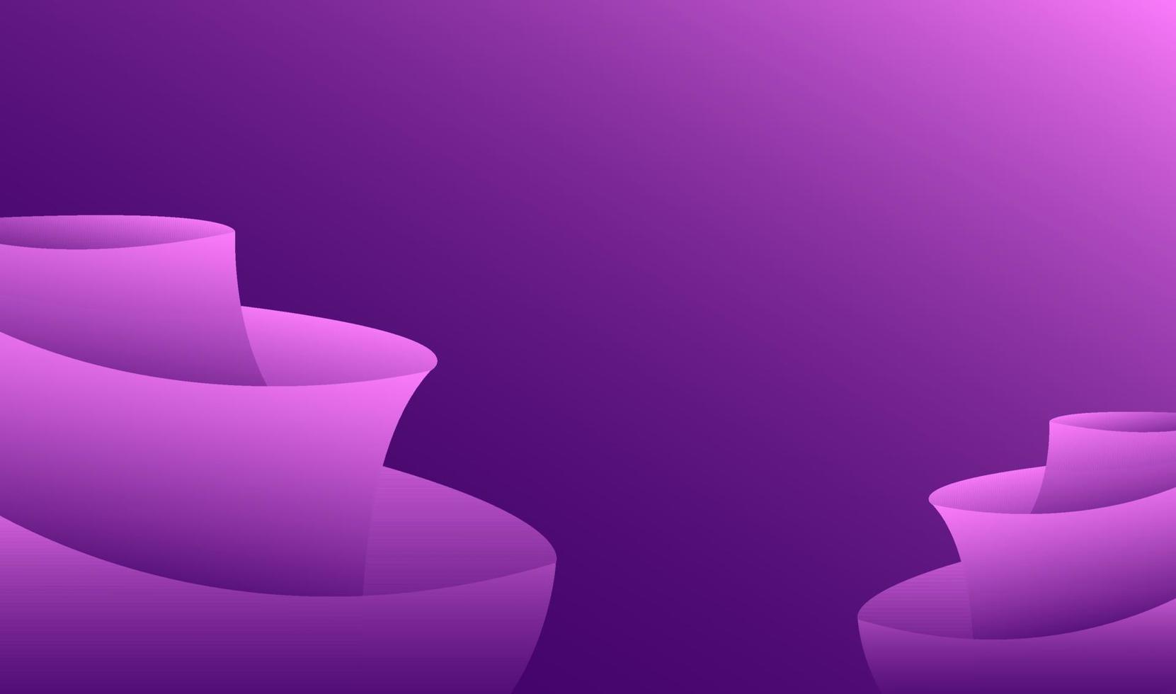 modern abstrakt lutning rosa lila geometrisk bakgrund vektor