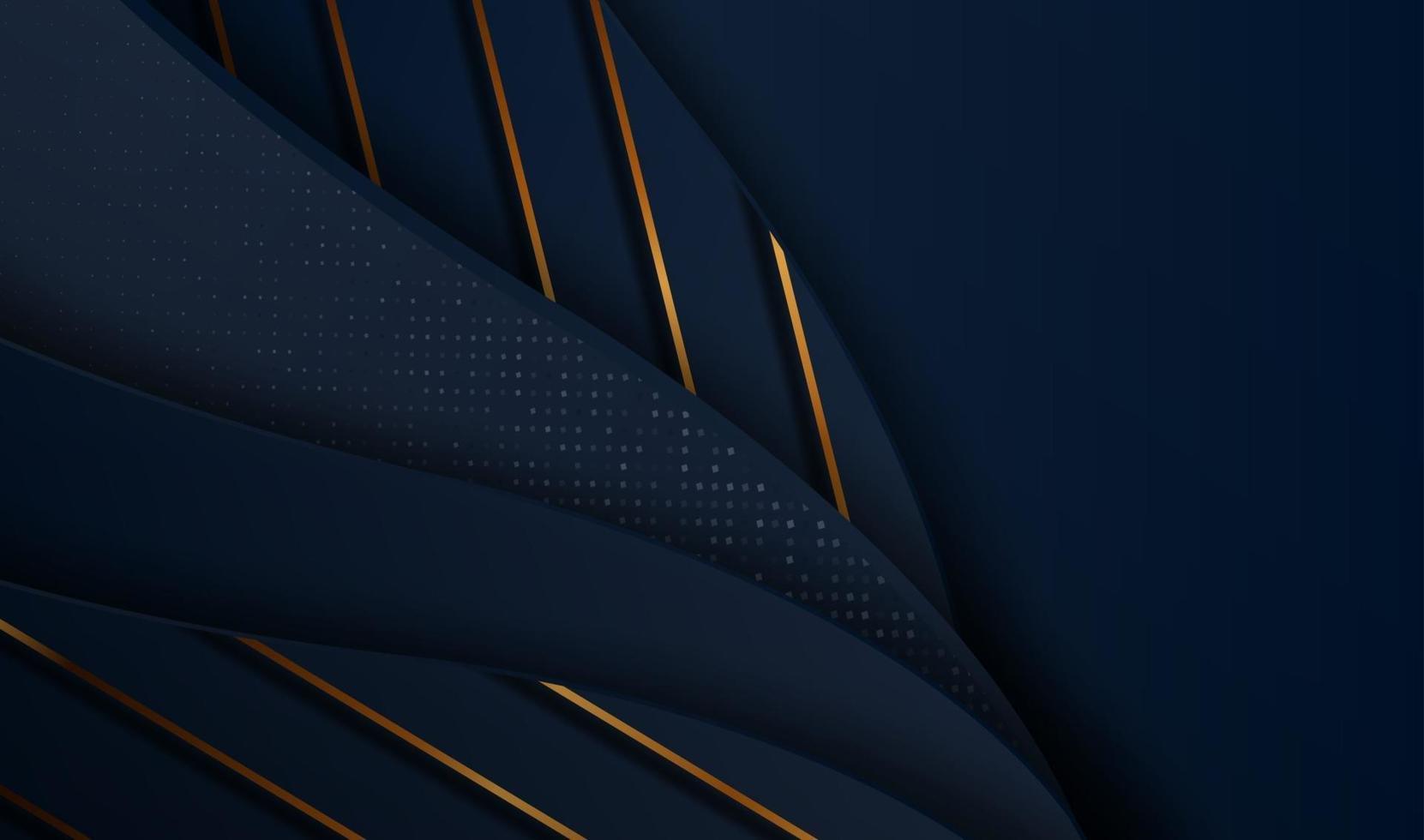 pappersskuren lyxig guldbakgrund med metallstruktur 3d abstrakt, för presentkort, affisch på affischmall, målsida, ui, ux, omslagsbok, banner, vektor