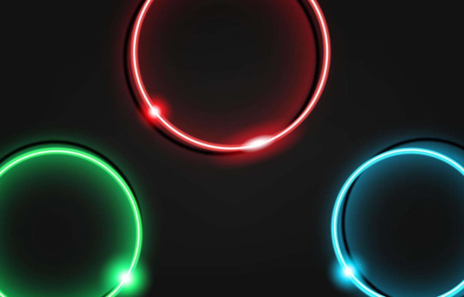 neoncirkel lyxig bakgrund med metalltextur 3d abstrakt. lämplig för tapet, banner, bakgrund, kort, bokillustration, målsida, gåva, omslag, flygblad, rapport, affär, sociala medier vektor