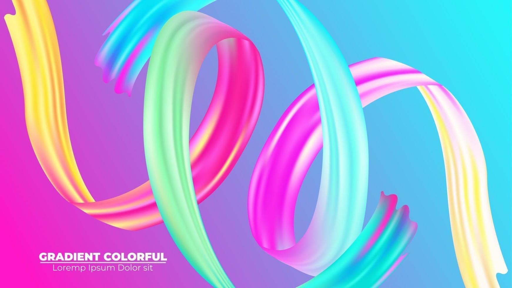 Farbe Pinselstrich Öl oder Acrylfarbe Hintergrund modern bunt. geeignet für Tapete, Banner, Hintergrund, Karte, Buchillustration, Landing Page, Geschenk, Cover, Flyer, Bericht, Geschäft, vektor