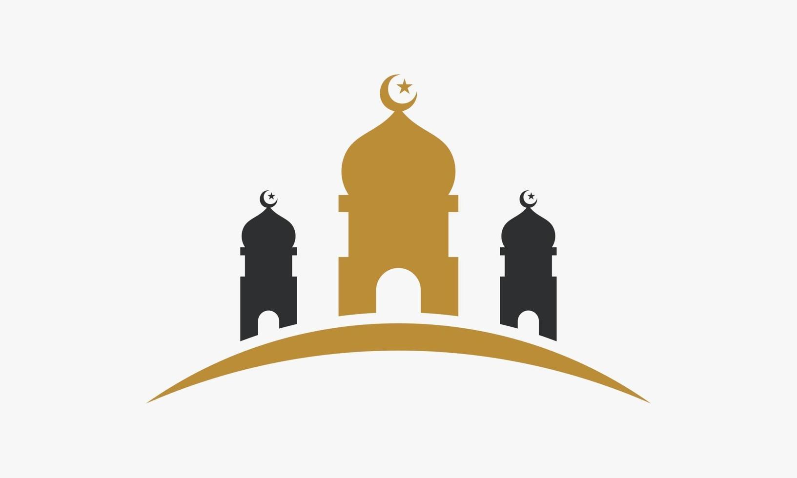 stor moské ikon design vektor
