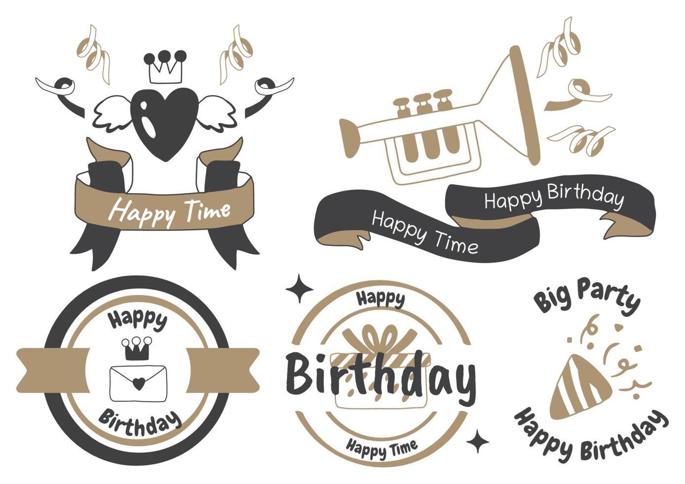 fest etikett vektor logotyp för banner
