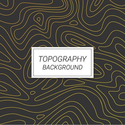 Topografi Bakgrundsvektor vektor