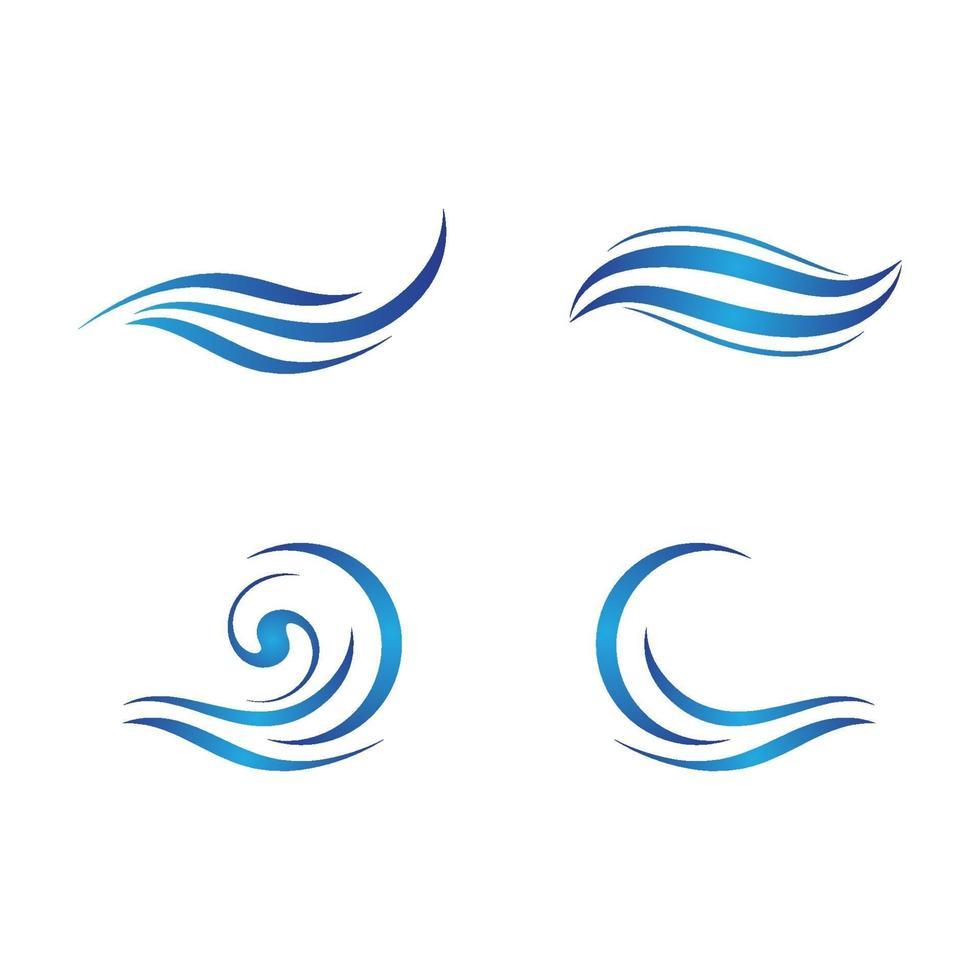 Wasserwelle Logo Bilder vektor