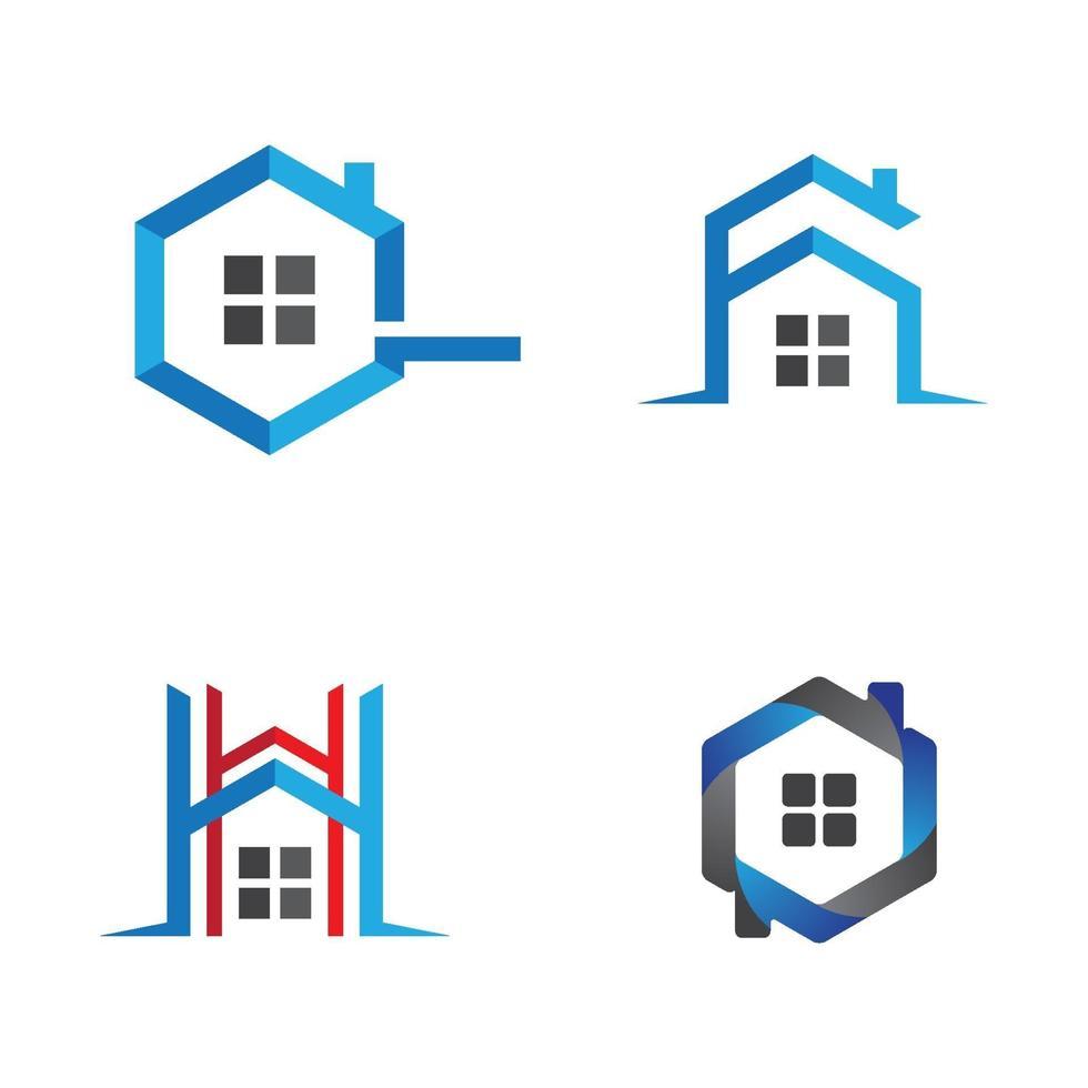 Haus Logo Bilder vektor