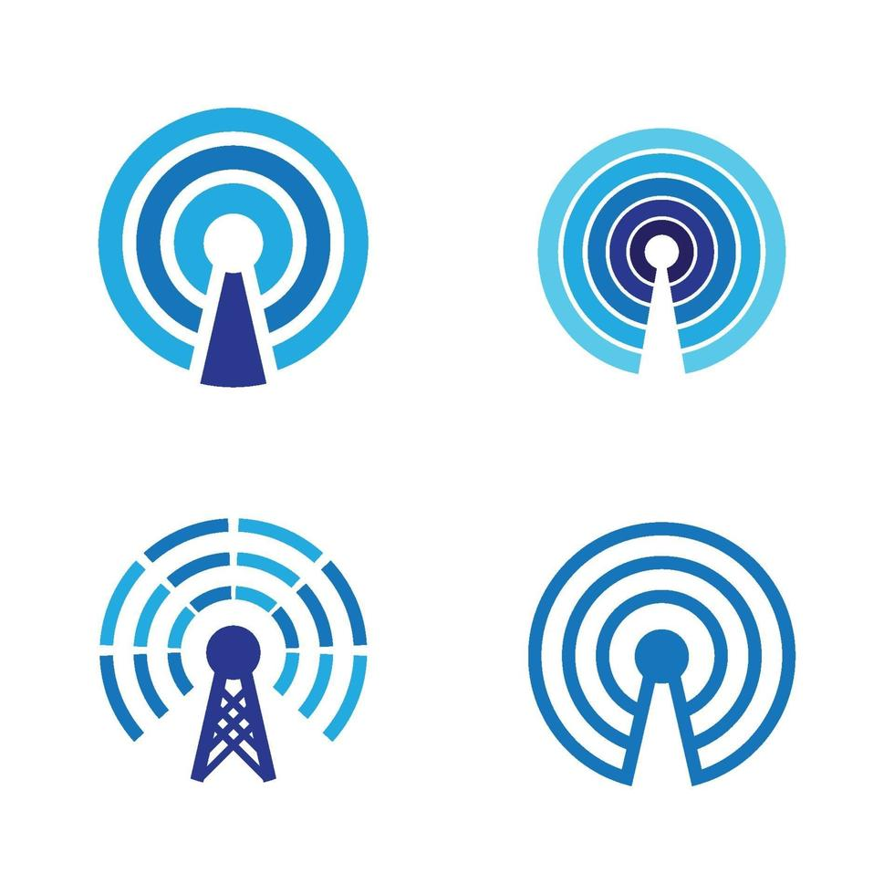 Wireles Logo Bilder Illustration vektor