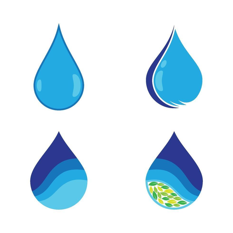 Wassertropfen-Logo-Bilder vektor
