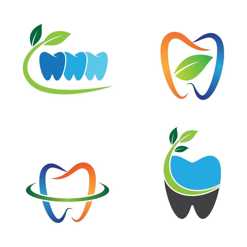 Zahnpflege Logo Bilder vektor