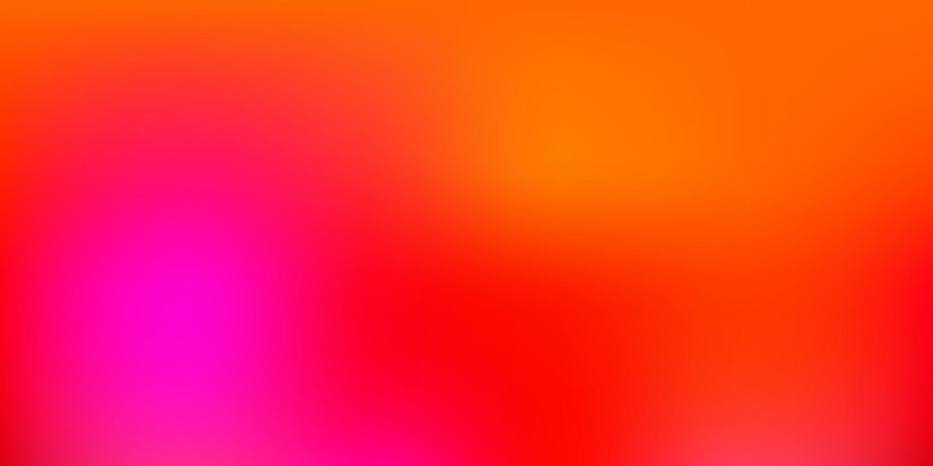 hellrosa, gelbes Vektorgradienten-Unschärfemuster. vektor