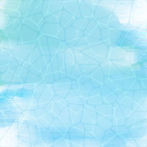 Akvarell vatten textur vektor