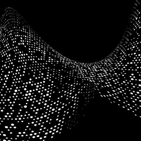 Abstrakt prickar bakgrund vektor