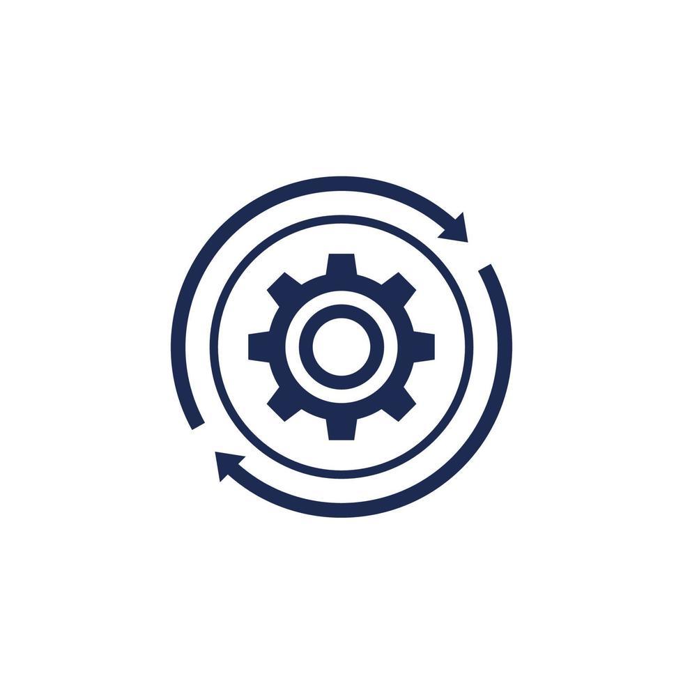 Betrieb, Betriebsintegrationssymbol, vector.eps vektor