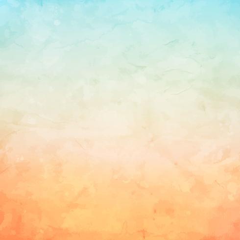 Grunge akvarell bakgrund vektor