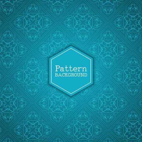 Elegant mönster bakgrund vektor