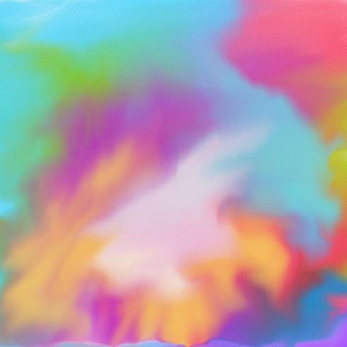 Akvarell konsistens vektor