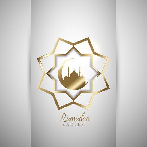 Dekorativ Ramadan bakgrund vektor