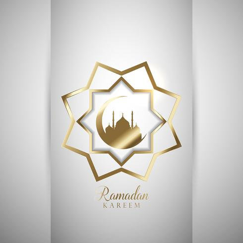 Dekorativer Ramadan-Hintergrund vektor