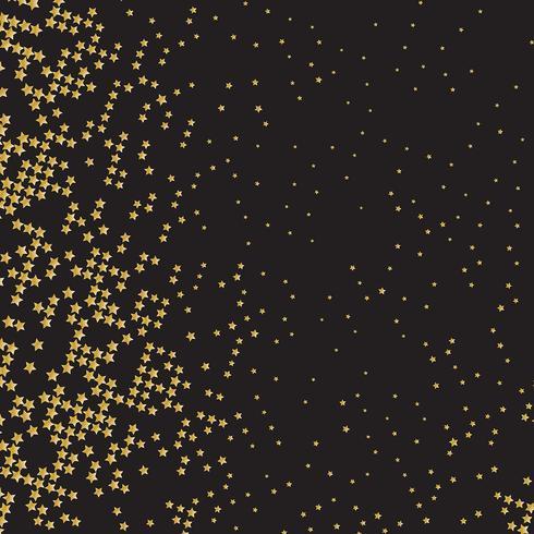 Goldsternhintergrund vektor