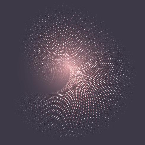 Abstrakt halvton prickar bakgrund vektor
