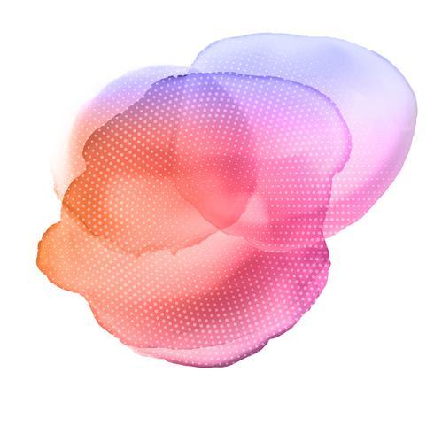 Akvarell bakgrundsstruktur vektor