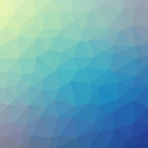 Abstraktes Low-Poly-Design vektor