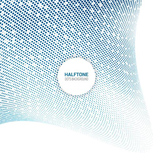 Halbton punktiert Hintergrund vektor