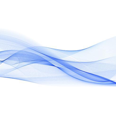 Abstrakt vågdesign vektor