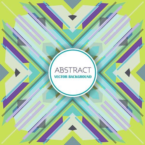 Abstrakt bakgrund med retro stil design vektor