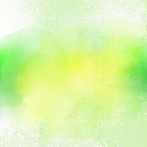 Aquarellhintergrund mit Halbtonpunkten vektor