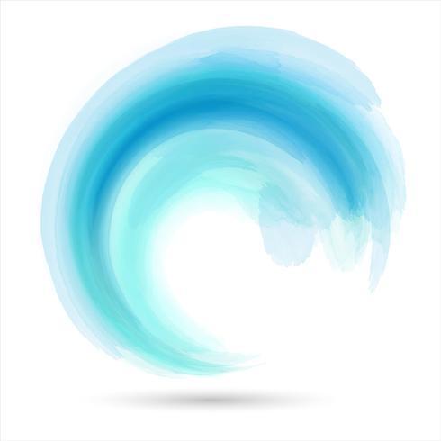 Abstraktes Wellendesign vektor