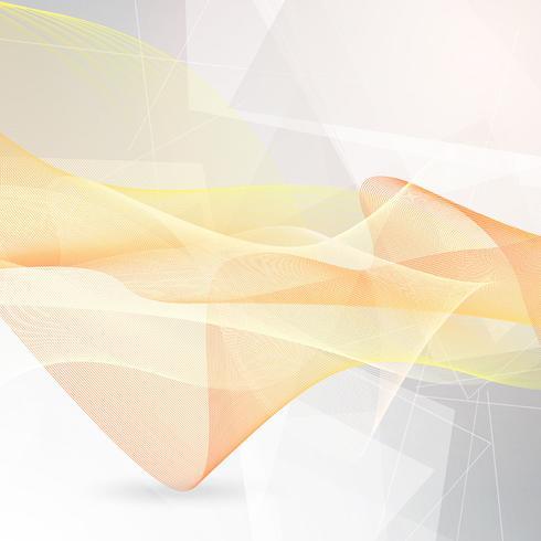 Abstrakta flytande linjer vektor